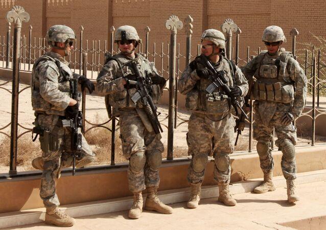 Żołnierze NATO w Iraku