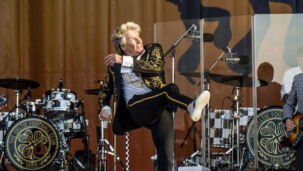 Brytyjski piosenkarz Rod Stewart - Sputnik Polska
