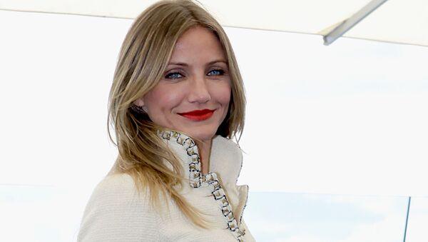 Amerykańska aktorka Cameron Diaz  - Sputnik Polska