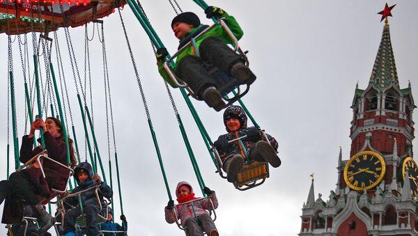 Karuzela na Placu Czerwonym - Sputnik Polska