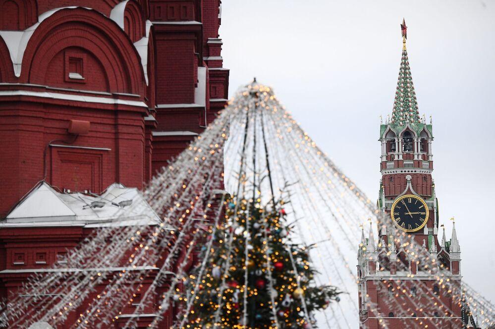 Plac Czerwony w świątecznej odsłonie
