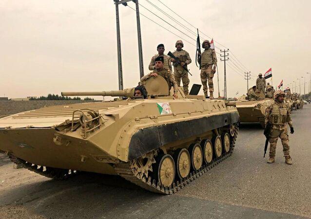 Irakskie siły bezpieczestwa.