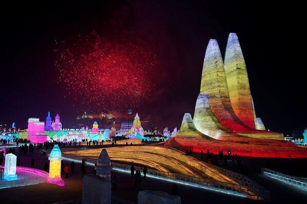 Festiwal Śniegu i Lodu w Harbinie - Sputnik Polska