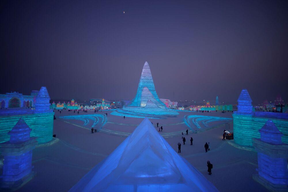 Festiwal Śniegu i Lodu w Harbinie