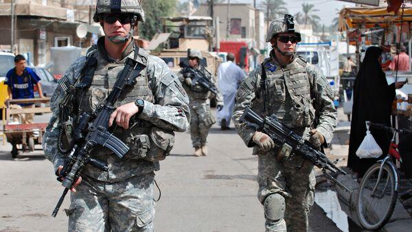 Amerykańscy żołnierze w Iraku. - Sputnik Polska