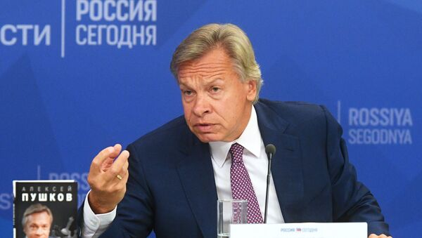 Senator Aleksiej Puszkow - Sputnik Polska