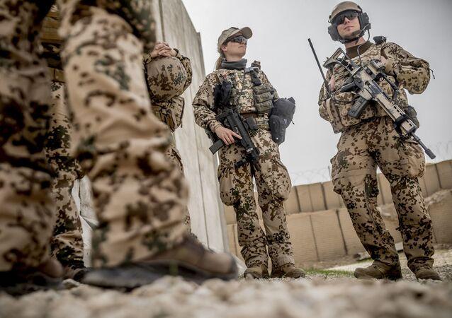 żołnierze niemieckiej Bundeswehry