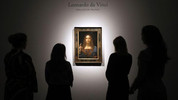 Obraz Leonarda da Vinci Zbawca Świata - Sputnik Polska