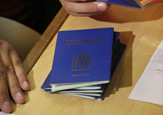 Ukraińskie paszporty