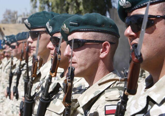 Polscy wojskowi w Iraku