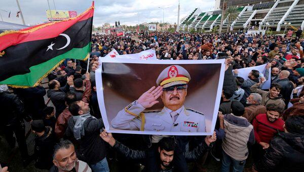 Protesty w Bengazi przeciwko decyzji tureckiego parlamentu w sprawie wysłania żołnierzy do Libii - Sputnik Polska