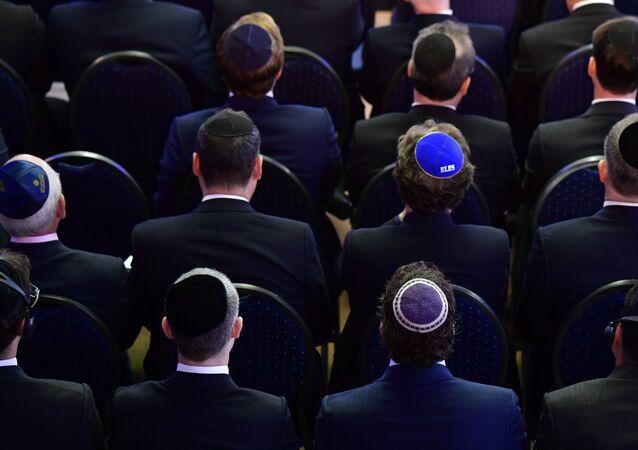 Wierni w synagodze