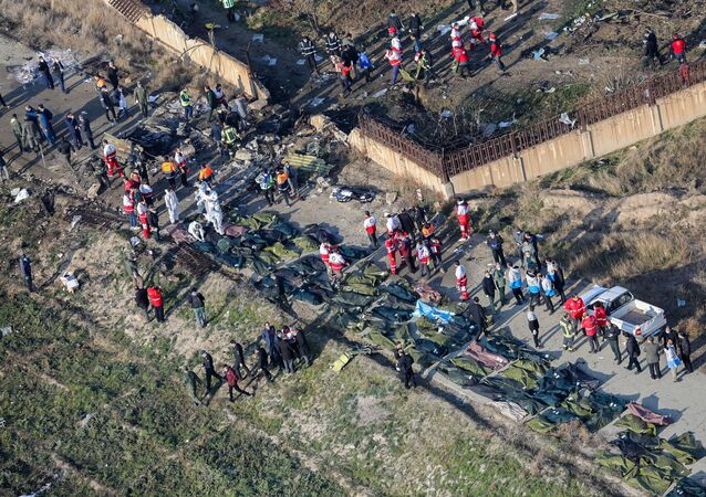 Katastrofa samolotu w Iranie.