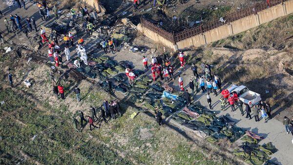 Katastrofa samolotu w Iranie - Sputnik Polska
