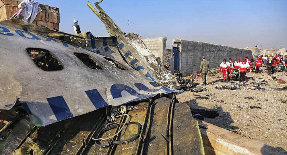 Katastrofa lotnicza ukraińskiego samolotu w Iranie