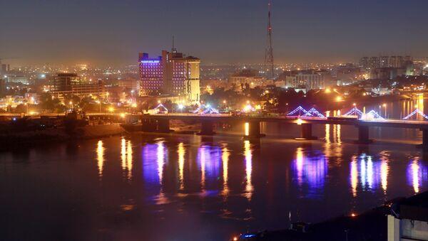 Zielona Strefa w Bagdadzie, Irak - Sputnik Polska