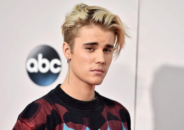 Kanadyjski piosenkarz Justin Bieber