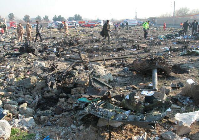Katastrofa ukraińskiego Boeinga w Teheranie