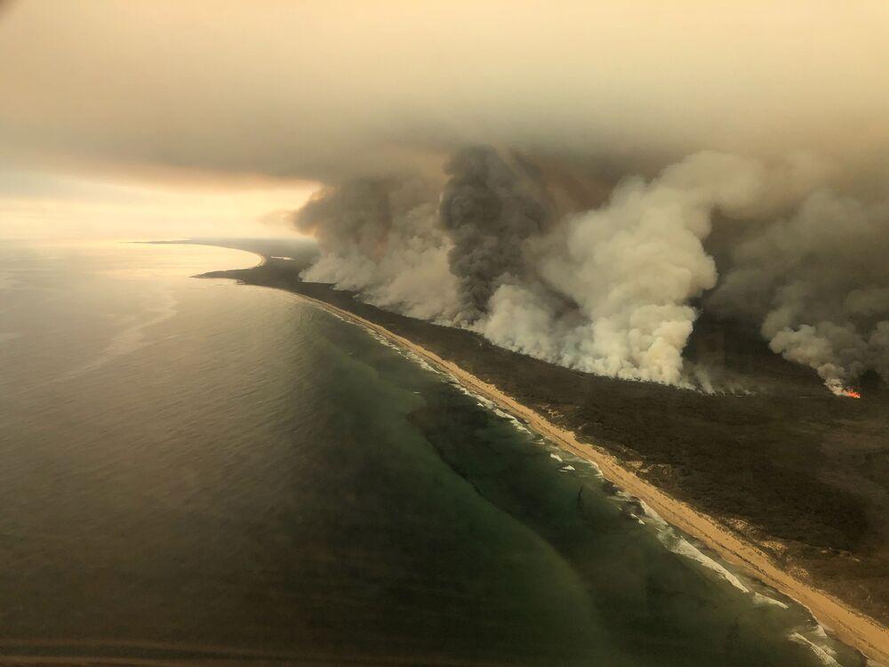 Pożary leśne w Australii