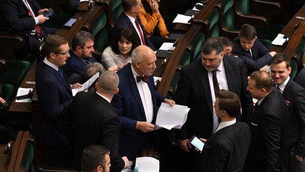 Posiedzenie Sejmu RP - Sputnik Polska
