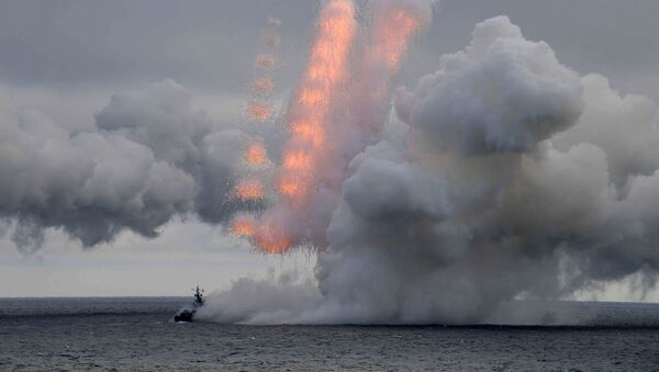 Manewry wojskowe na Morzu Czarnym - Sputnik Polska