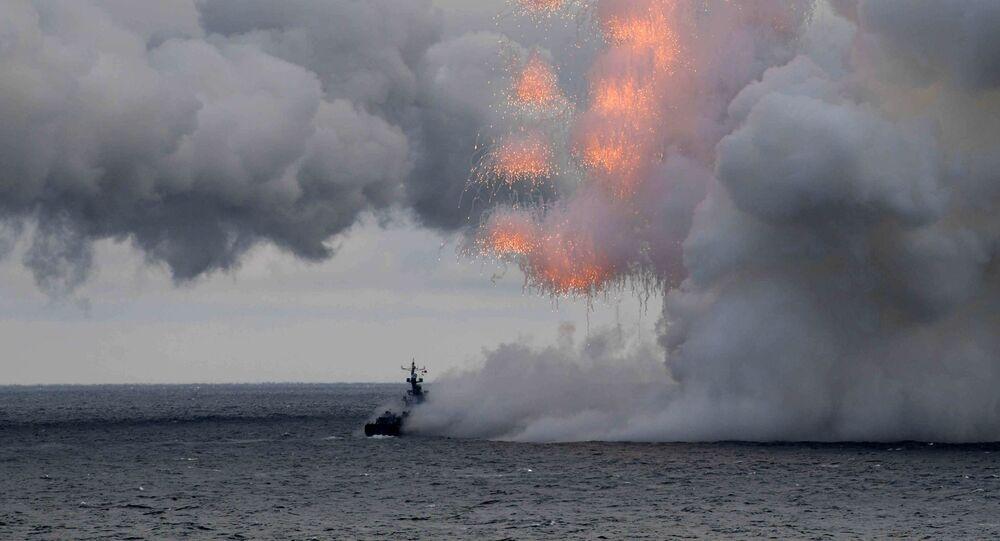 Manewry wojskowe na Morzu Czarnym