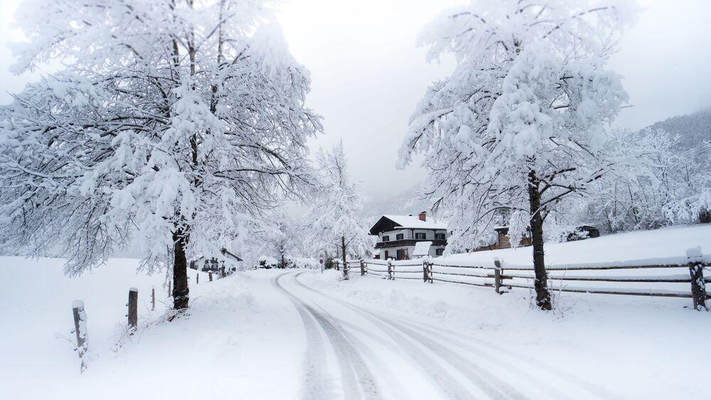 Zima w Bawarii