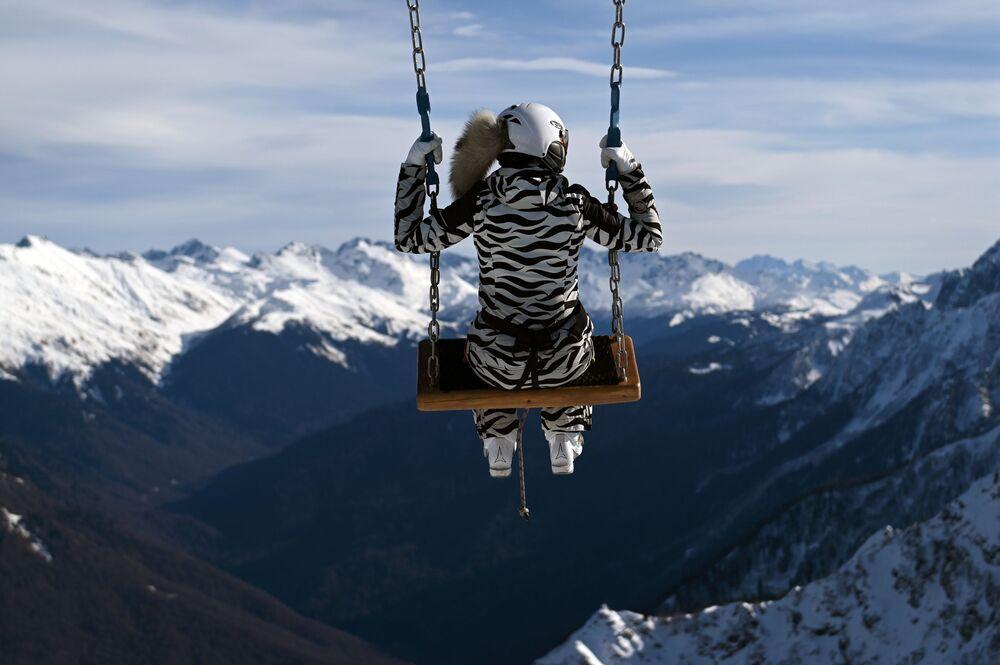 Ośrodek narciarski Roza Chutor w Soczi