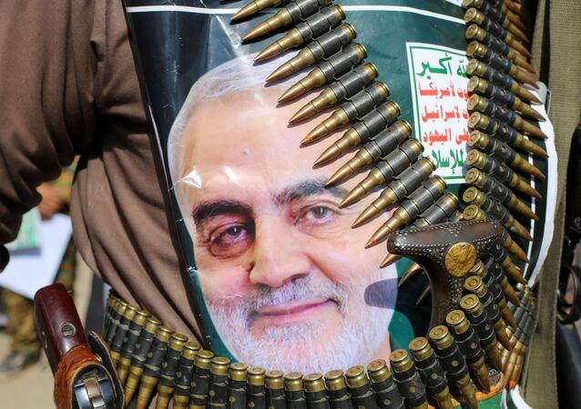 Zwolennicy generała Kasema Sulejmaniego