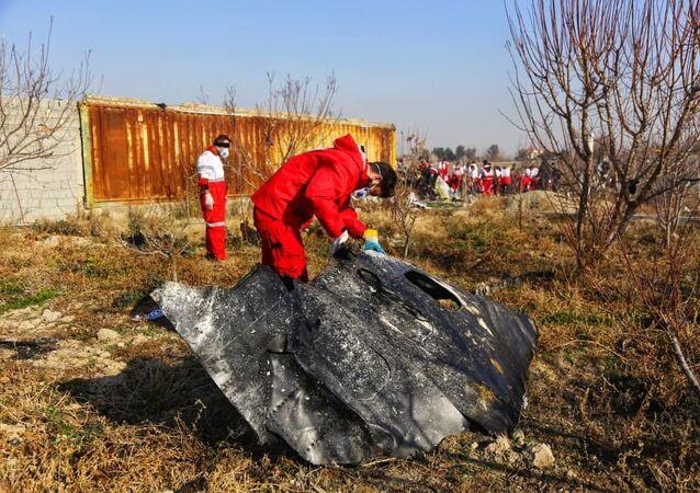 Katastrofa ukraińskiego samolotu pasażerskiego pod Teheranem