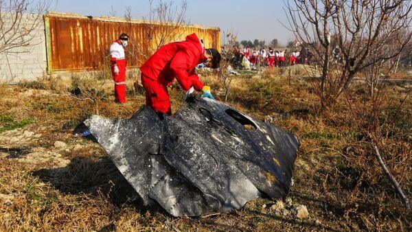 Katastrofa ukraińskiego samolotu pasażerskiego pod Teheranem - Sputnik Polska