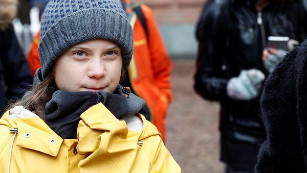 Szwedzka aktywistka klimatyczna Greta Thunberg - Sputnik Polska