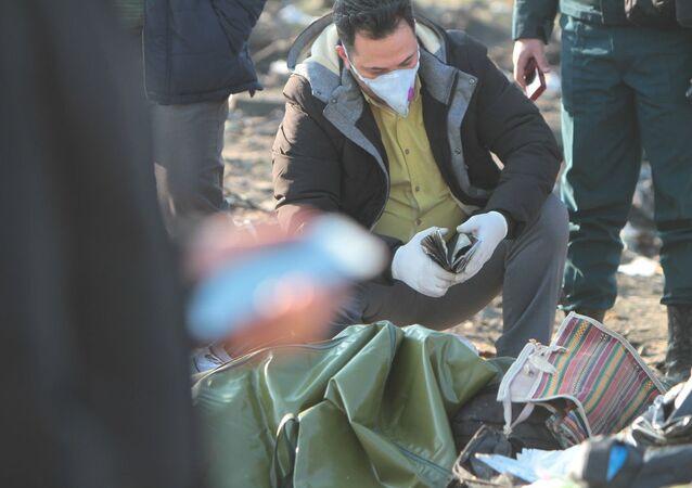 Katastrofa Boeinga w Iranie