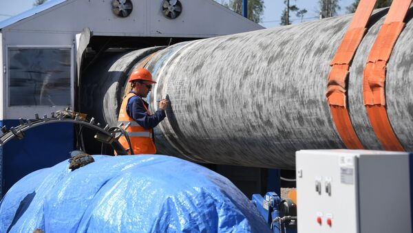 Budowa gazociągu Nord Stream 2. - Sputnik Polska