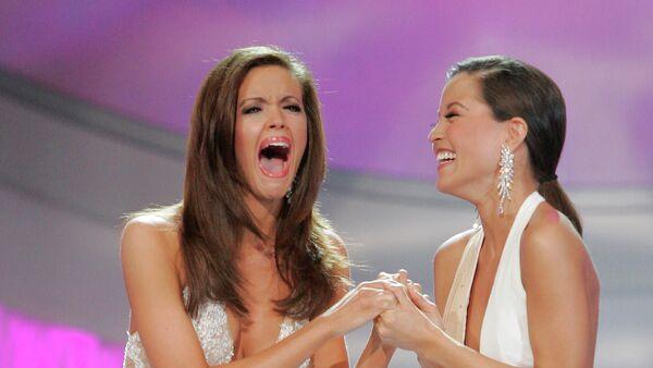 """Miss Oklahoma, Jennifer Berry, zwyciężczyni konkursu """"Miss America"""" w Las Vegas, 2006 rok  - Sputnik Polska"""