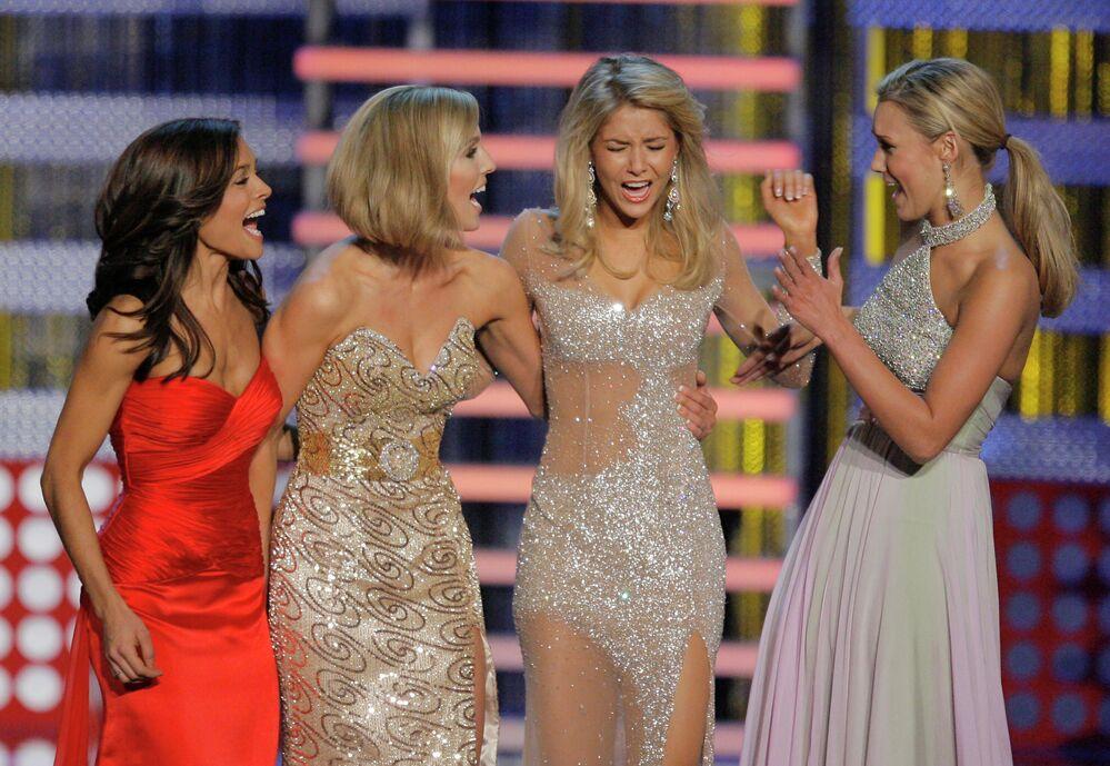 """Kirsten Haglund, zwyciężczyni konkursu """"Miss America"""" w 2008 roku"""