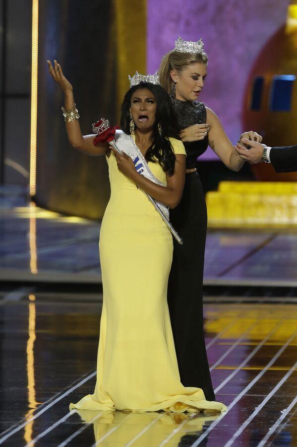 """Nina Davuluri, zwyciężczyni konkursu """"Miss America"""" w 2014 roku  - Sputnik Polska"""