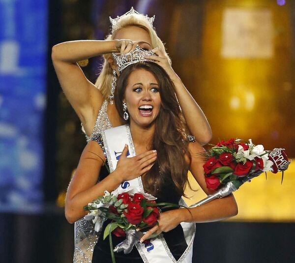 """Cara Mund, zwyciężczyni konkursu """"Miss America"""" w 2018 roku  - Sputnik Polska"""