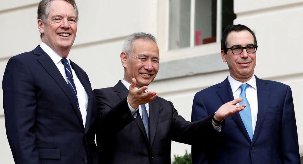 Wicepremier Rady Państwa ChRL Liu He w Waszyngtonie