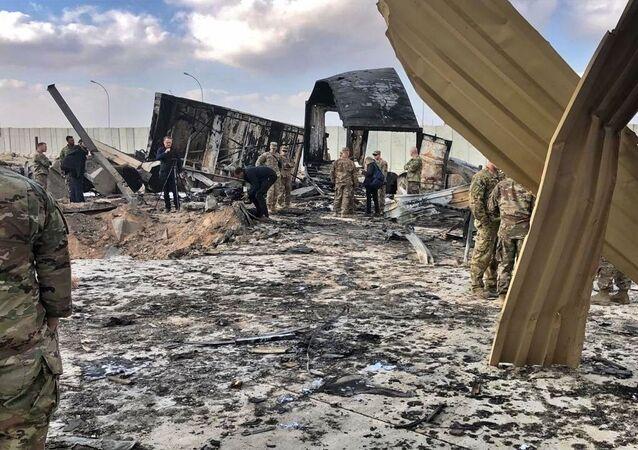 Konsekwencje ostrzału amerykańskiej bazy wojskowej w Iraku