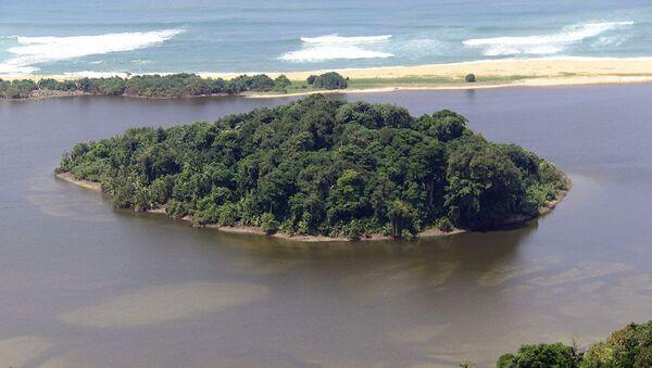 Mała wyspa na południowym krańcu Sumatry - Sputnik Polska