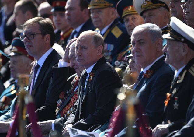 73. rocznica zwycięstwa w II wojnie światowej, uroczystości na Placu Czerwonym, 9 maja 2018