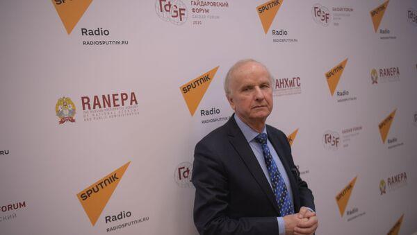 Były wicepremier i były minister finansów RP prof. Grzegorz Kołodko w Moskwie - Sputnik Polska