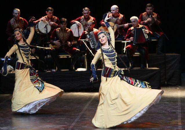 Gruziński zespół taneczny