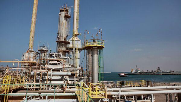Terminal naftowy w Libii. - Sputnik Polska