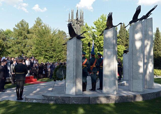 Pomnik rosyjskich i radzieckich żołnierzy, walczących na terenie Słowenii w I i II wojnie światowej