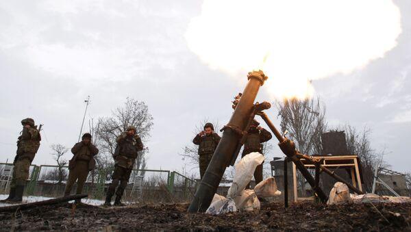Konflikt zbrojny na Ukrainie. - Sputnik Polska