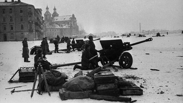 Operacja wyzwalania Krakowa przez Armię Czerwoną - Sputnik Polska