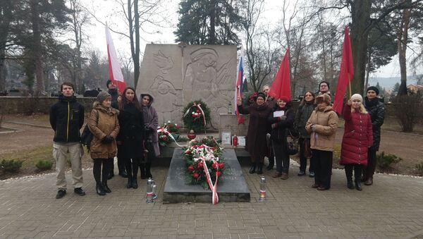 Obchody wyzwolenia Kielc spod okupacji przez Armię Czerwoną - Sputnik Polska