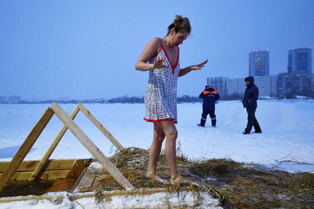 Obchody Chrztu Pańskiego w Nowosybirsku